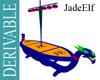 [JE] Viking Ship Table