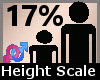 Height Scaler 17% F A