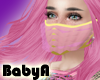 !BA Gold Ruffle Mask 3