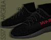 "350 V2 "" Bred "" Socks"
