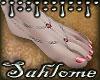 Summer Feet Pink SLV
