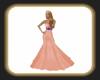 Orange Pam gown