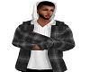 Flannel Hoody