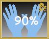 90% Scaler Hands