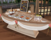 Buffet Table/ Boat