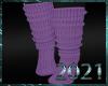 💀  Cutie Socks Lilac