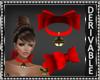 Christmas Bell Choker
