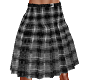 TF* Black Plaid Kilt
