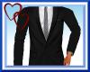 W|Black Suit-Black Tie