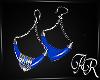 AR* Earrings Light  Blue