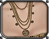 MB Coin Necklace