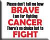 (N) Cancer Sticker