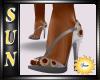 [SUN] Silver-Grey Heels