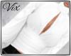 WV: White Bow Bk Blouse