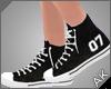 ~AK~ Varsity Shoe: Black
