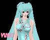 Miku Hatsune Teal Hair