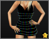 C2u Mini Club Dress Rnbw