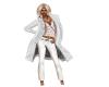 white lab coat and shirt