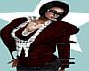 Boss~Wool Jacket Red