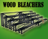 G~ Black Wood Bleachers~