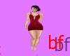 F]Red dress BF
