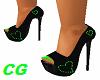 *CG* Green Heart Heels