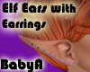 *BA Elf Ear Blue Gems