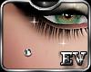 EV Cheek Piercing Silver