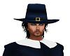 Pilgrim Blue Hat