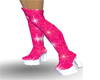 OVER KNEE GLITTER BOOTS