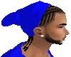Braids AND Beanie Blue
