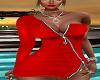 FG~ Red Zipper Dress