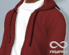 Relaxed Hoodie | Red