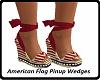 American Flag PinupWedge