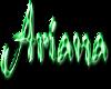 Ariana in Emerald Script