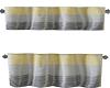 two pc kitch3n drape