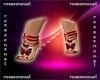 feet & pedicure red