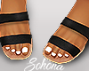 ṩ Brea Sandals Blk
