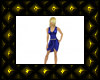 sextAMY blue dress