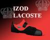 Red Izod Lacoste Sneaks