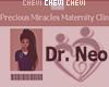 Dr. Neo Custom Badge
