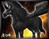 ! Dark Pegasus Horse