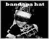 bandanna hat