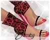 Red Leopard Heels