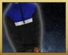 blue & black hoodie (: