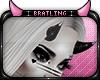 B| Silver Tip Black Horn