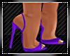 Maria Gown Purple Heels