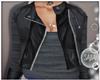 S! Leather Grey Jacket