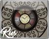 Rus: Monroe wall clock