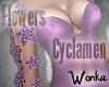 W° Cyclamen Add Arm